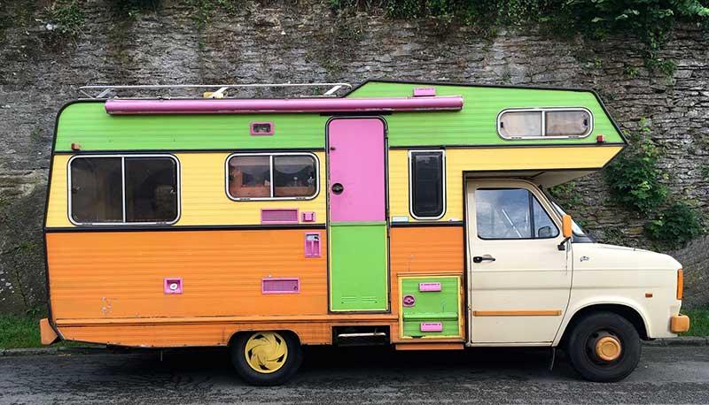 remorquage camping car en panne
