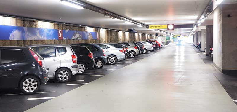 difficulté remorquage parking souterrain
