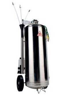 vidangeur carburant pour parer à une inversion de carburant